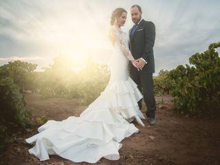 La boda de Almudena y Pedro Javier