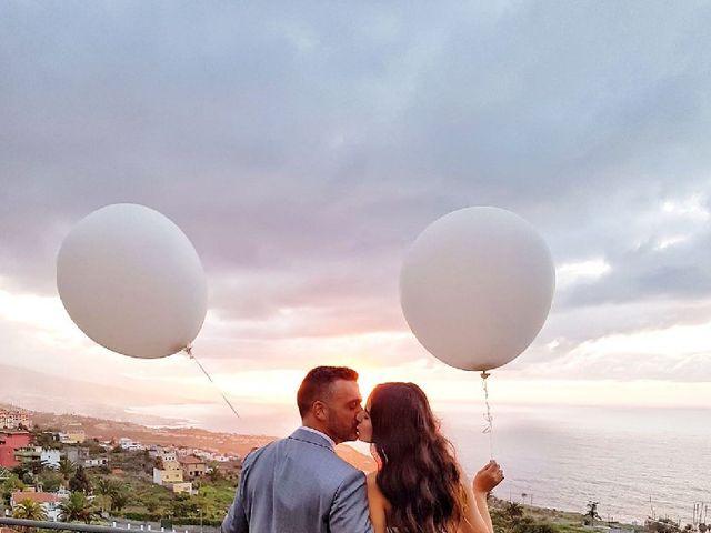 La boda de Fernando y Andrea  en La Victoria De Acentejo, Santa Cruz de Tenerife 8