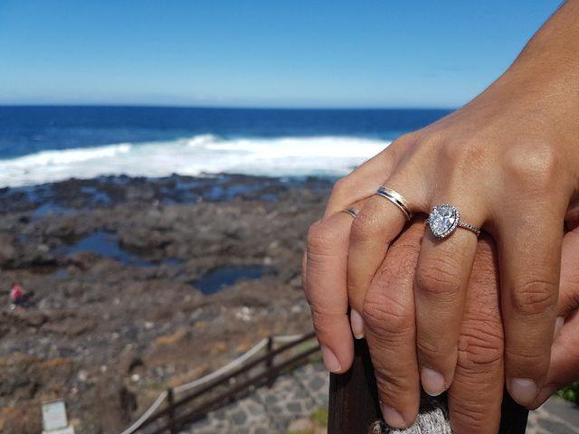 La boda de Fernando y Andrea  en La Victoria De Acentejo, Santa Cruz de Tenerife 18
