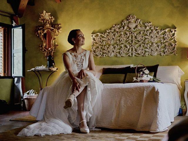 La boda de Miguel y Laura en La Cabrera, Madrid 1