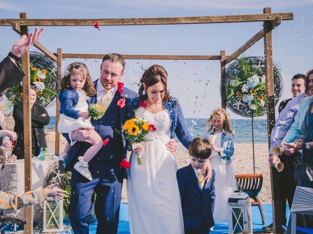 La boda de Geraroid y Laura en L' Atmella De Mar, Tarragona 2