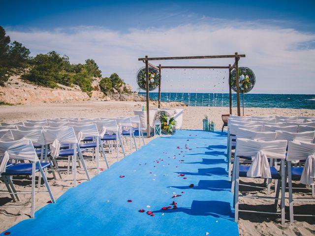 La boda de Geraroid y Laura en L' Atmella De Mar, Tarragona 3