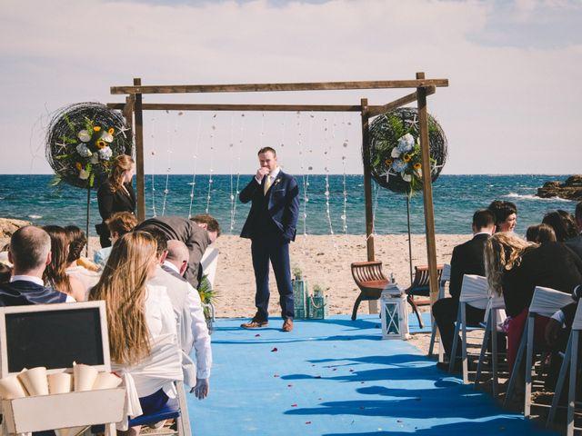 La boda de Geraroid y Laura en L' Atmella De Mar, Tarragona 9