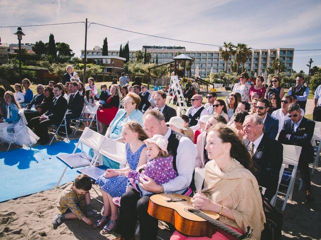 La boda de Geraroid y Laura en L' Atmella De Mar, Tarragona 10