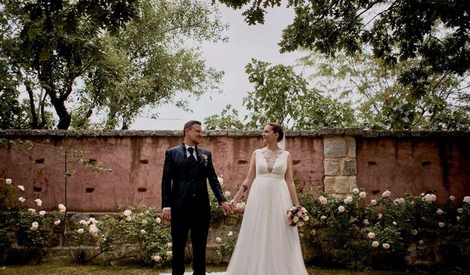 La boda de Miguel y Laura en La Cabrera, Madrid