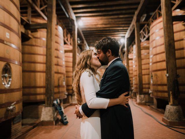 La boda de Alejandro y Felicia en San Vicente De La Sonsierra, La Rioja 12