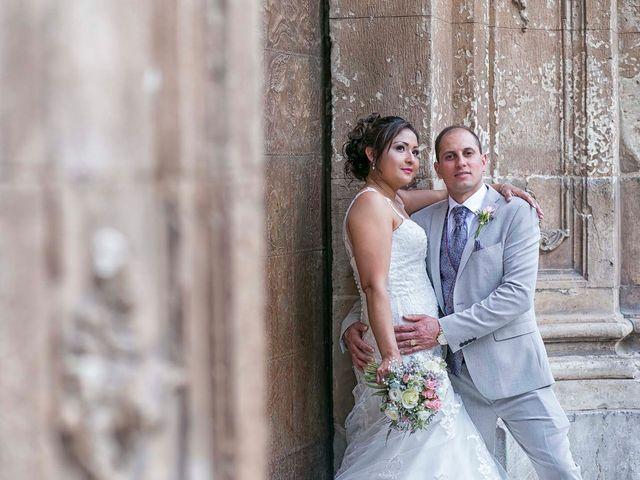 La boda de María y Antón