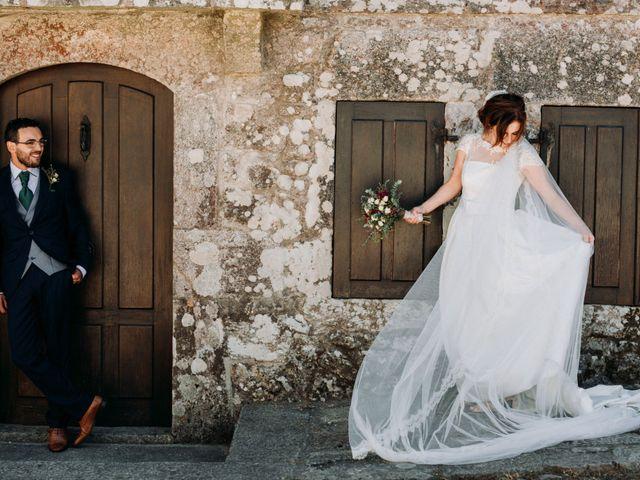 La boda de Marcos y Ana en A Guarda, Pontevedra 19