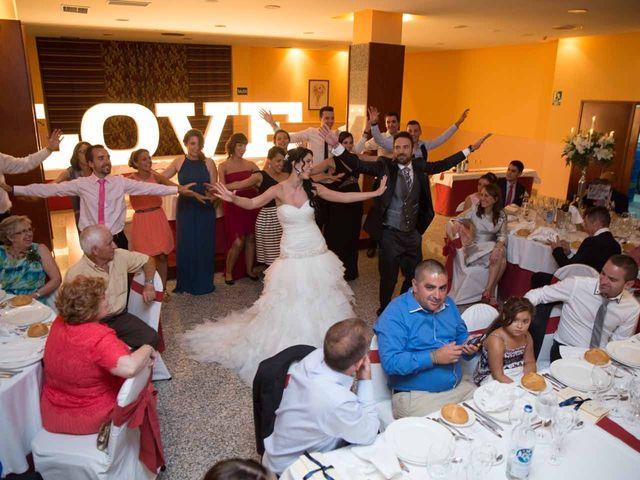 La boda de Adrian y Loli en Ponferrada, León 48