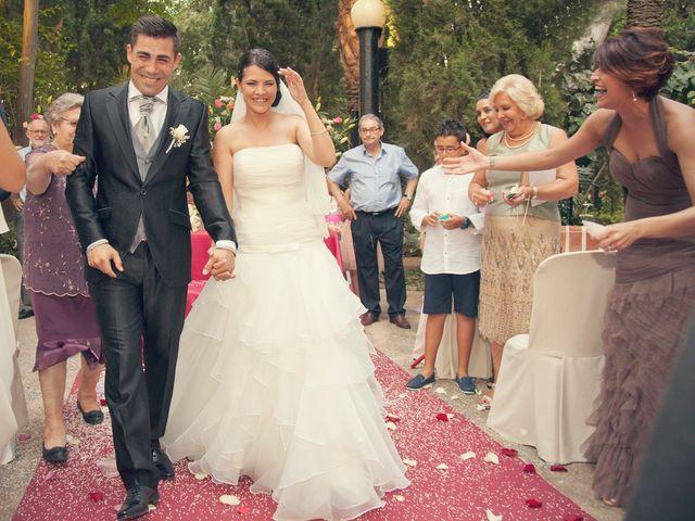 La boda de M. José y Oscar