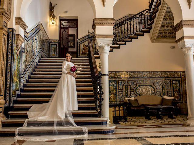 La boda de Javier y Lili en Burguillos, Sevilla 7
