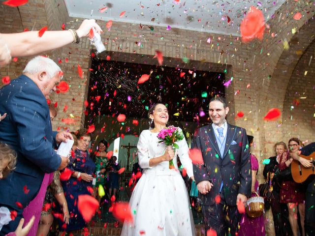 La boda de Javier y Lili en Burguillos, Sevilla 1