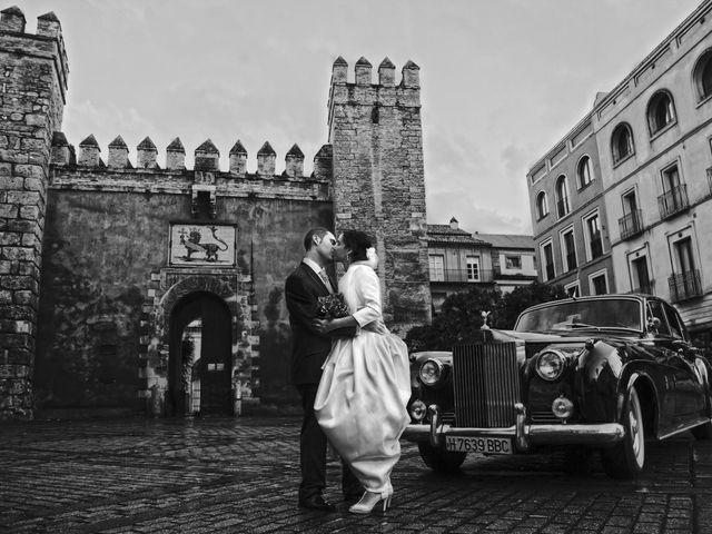 La boda de Javier y Lili en Burguillos, Sevilla 23