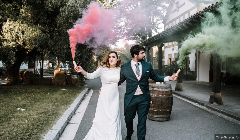 La boda de Alejandro y Felicia en San Vicente De La Sonsierra, La Rioja