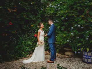 La boda de Empar y Baptiste