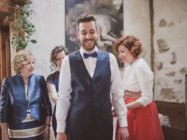 La boda de Jesus y Rebeca en Pinilla Del Valle, Madrid 12
