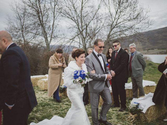 La boda de Jesus y Rebeca en Pinilla Del Valle, Madrid 45