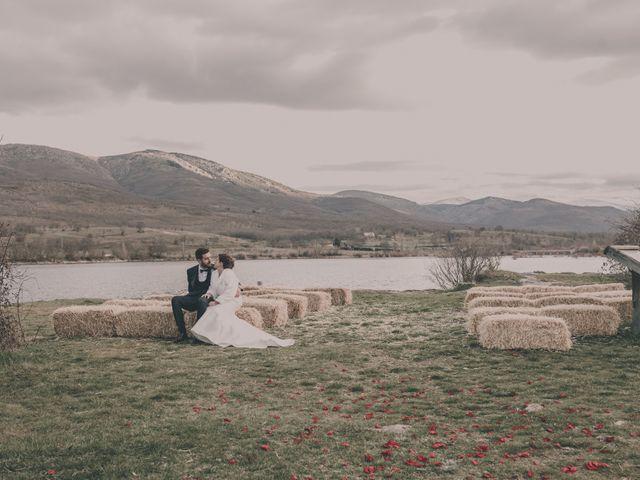 La boda de Jesus y Rebeca en Pinilla Del Valle, Madrid 65