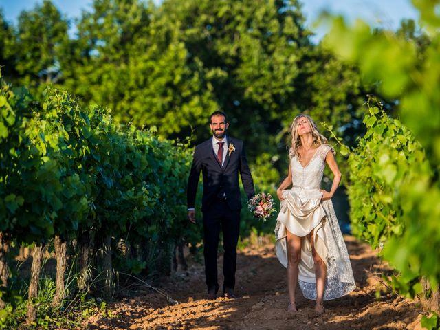 La boda de Jordi y Annouk en Sant Cugat Sesgarrigues, Barcelona 39