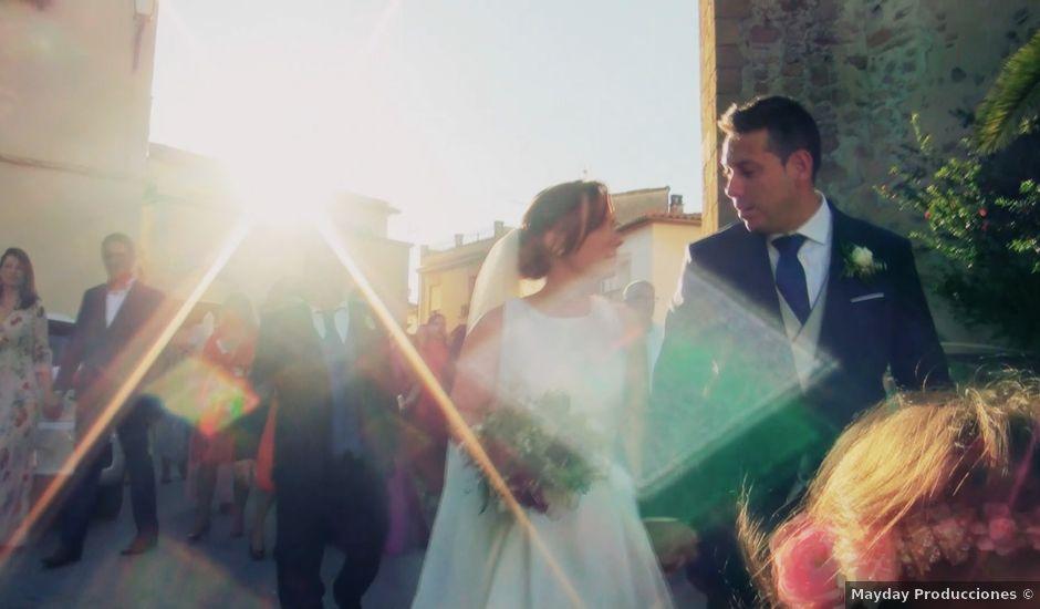 La boda de Isaac y Raquel en Peraleda De La Mata, Cáceres