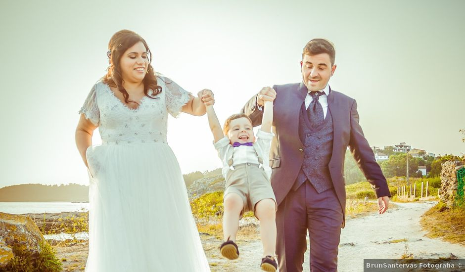 La boda de Fran y Raquel en Santiago De Compostela, A Coruña