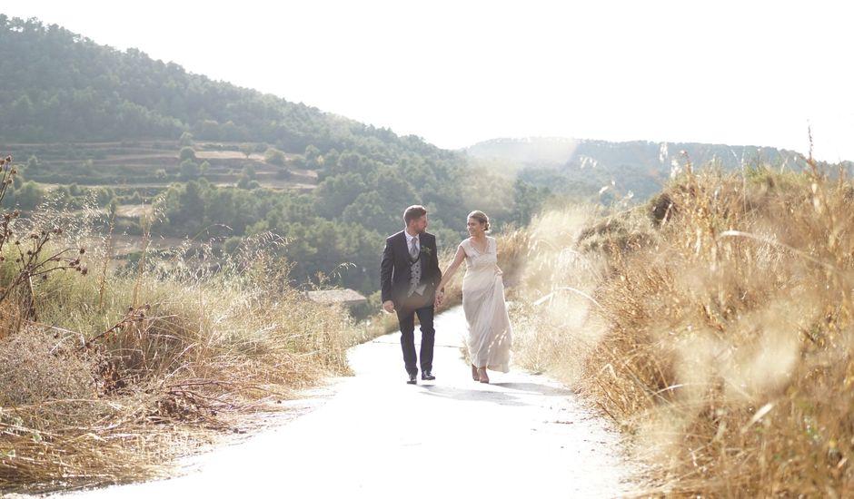La boda de Almudena y Jaume en Rocallaura, Lleida