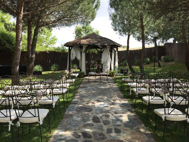La boda de Bruno y Beatriz en La Torre De Esteban Hambran, Toledo 10