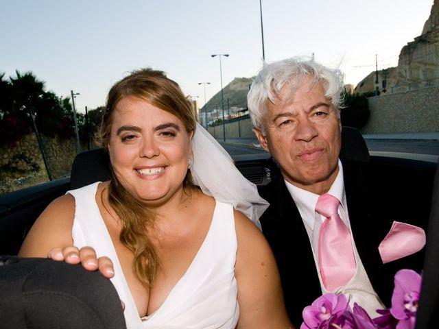 La boda de Pedro y Patricia  en Alacant/alicante, Alicante 1
