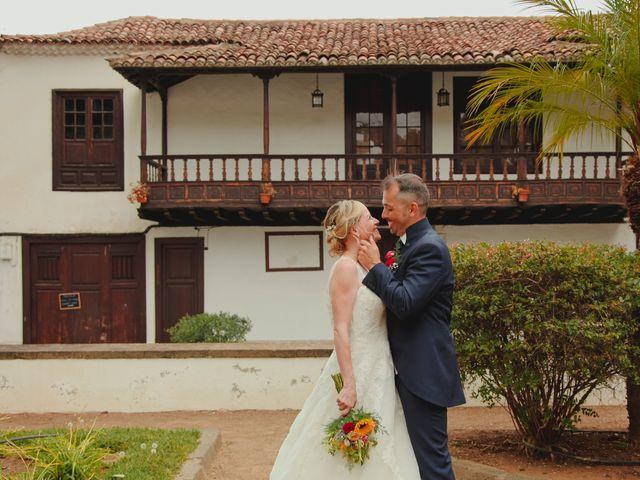 La boda de Daniel y Carol en La Orotava, Santa Cruz de Tenerife 19