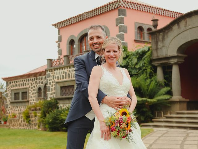 La boda de Daniel y Carol en La Orotava, Santa Cruz de Tenerife 2