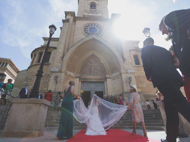 La boda de Lidia y Jose Andres en Albacete, Albacete 1