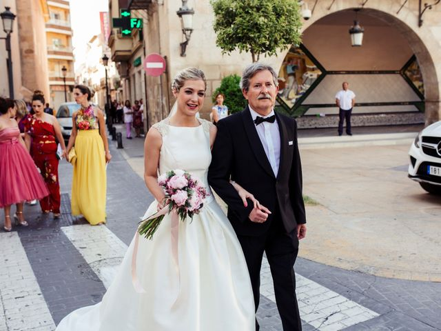 La boda de Pedro y Alejandra en Aspe, Alicante 21
