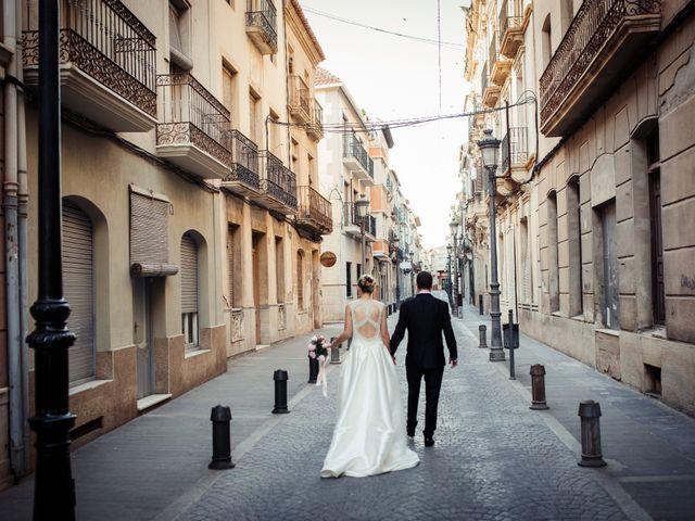 La boda de Pedro y Alejandra en Aspe, Alicante 32