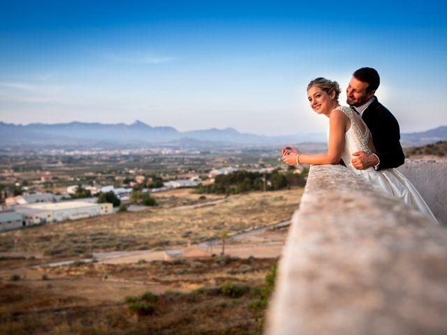 La boda de Pedro y Alejandra en Aspe, Alicante 34