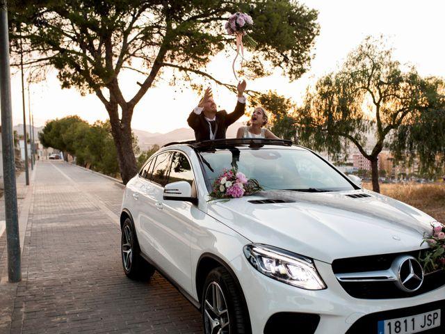 La boda de Pedro y Alejandra en Aspe, Alicante 35