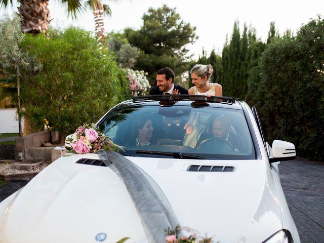 La boda de Pedro y Alejandra en Aspe, Alicante 36