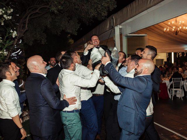 La boda de Pedro y Alejandra en Aspe, Alicante 38