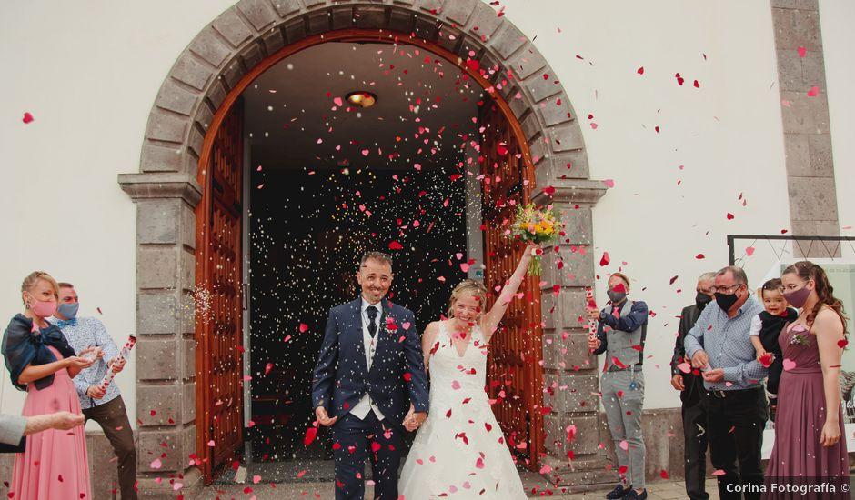 La boda de Daniel y Carol en La Orotava, Santa Cruz de Tenerife