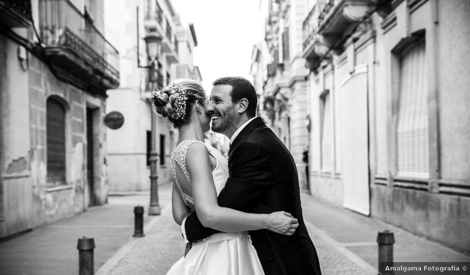 La boda de Pedro y Alejandra en Aspe, Alicante
