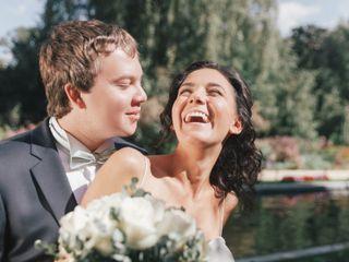 La boda de Eva y Dima