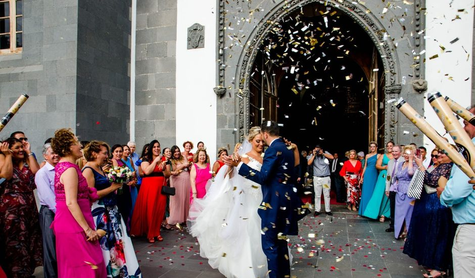 La boda de Borja y Ana en Telde, Las Palmas