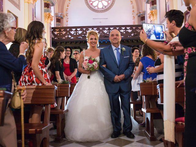 La boda de Sergio y Lucía en Granada, Granada 28