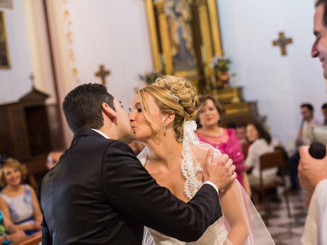 La boda de Sergio y Lucía en Granada, Granada 33