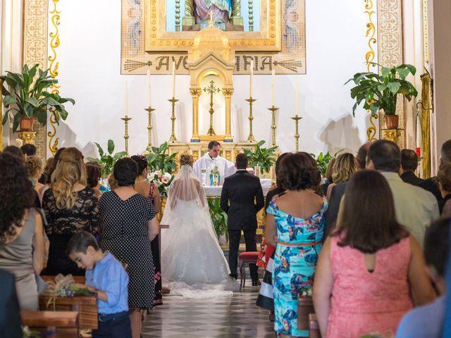 La boda de Sergio y Lucía en Granada, Granada 36