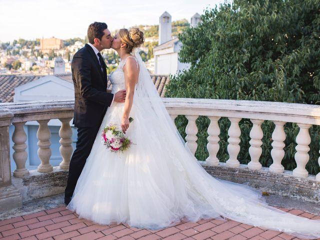 La boda de Sergio y Lucía en Granada, Granada 53