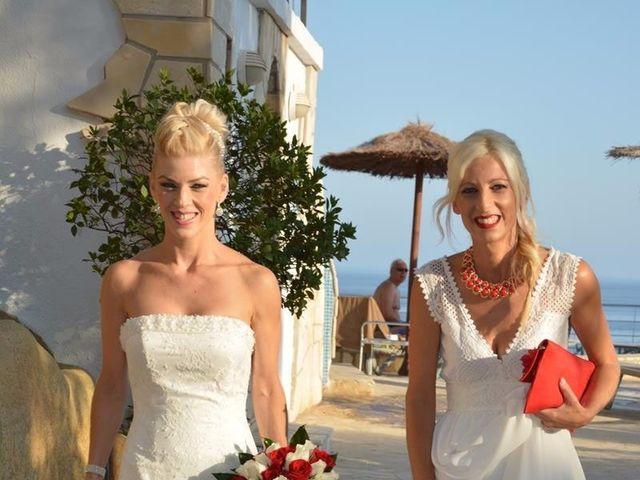 La boda de Guillermo y Mercedes en La/villajoyosa Vila Joiosa, Alicante 16