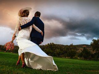 La boda de David y M. Fe