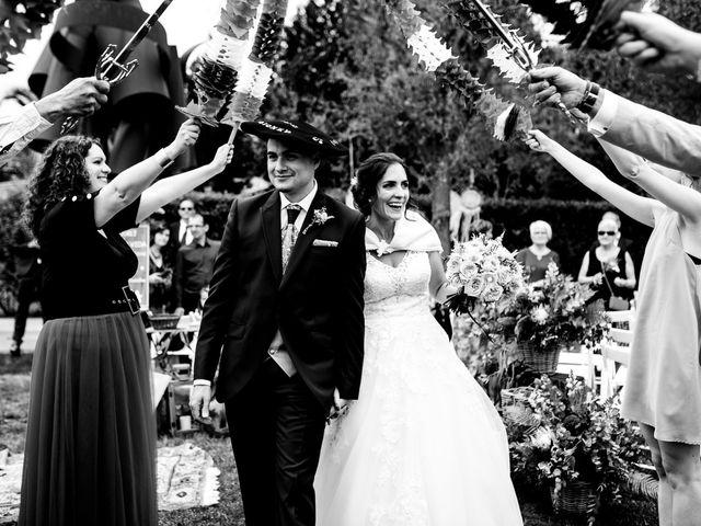 La boda de David y Izaskun en Quejana, Álava 5