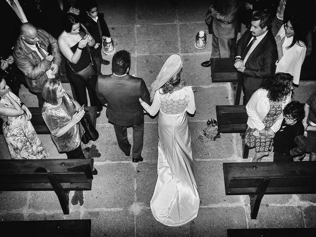 La boda de M. Fe y David en Arroyomolinos De La Vera, Cáceres 9