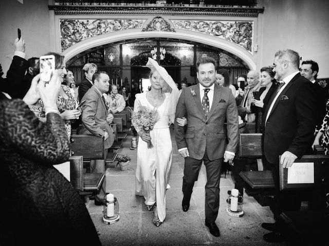 La boda de M. Fe y David en Arroyomolinos De La Vera, Cáceres 10